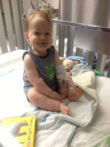 Logan in Hospital